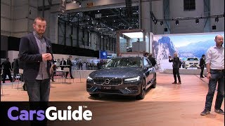 Volvo V60 2018 revealed at the Geneva motor show
