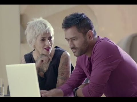 VIDEO: MS Dhoni chooses his new hair style for the ...