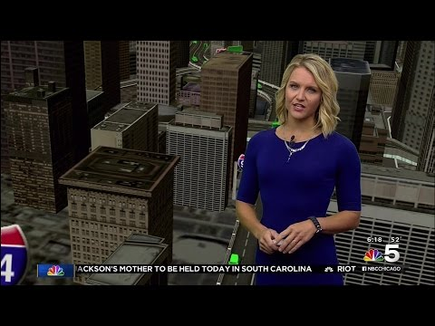 Kye Martin - tight blue dress - 09-14-15 (1080p)