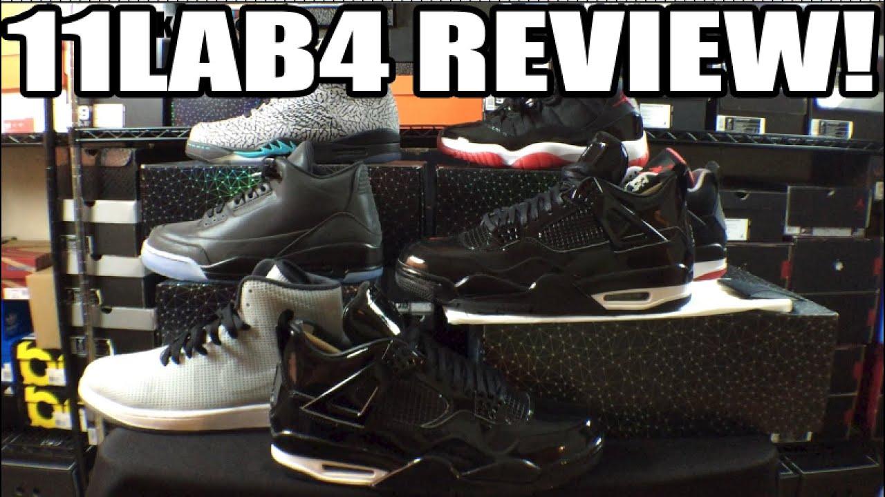 best website bc088 881b6 Air Jordan 11lab4 Black Patent Leather Review Comparison   On Feet (Lab  Series Explained)