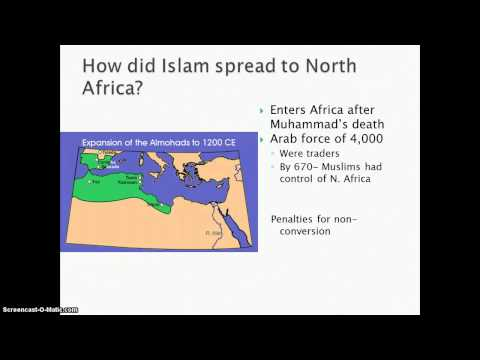 Islam- North and West Africa