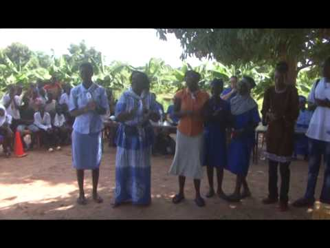 GAMBIA GIRL GUIDES GOLD PROJECT OCT 2014 KARANTABA IN LRR  PART 1