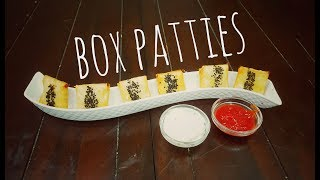 Box Patties | Crunchy Munchies | Kitchen In Cups