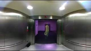 VR360° Extremely Scary Ghost Elevator :VR360 Degree