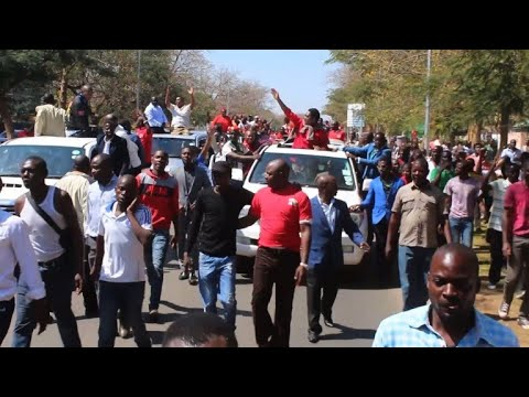 Celebrations as Zambia opposition chief freed
