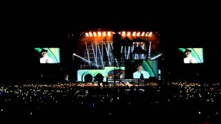 Big Bang - T.O.P Birthday Wish (Alive Galaxy Tour Malaysia) [Fancam HD Far-view] 121027
