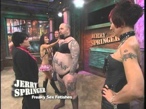 Freaky Sex Fetishes (The Jerry Springer Show)из YouTube · Длительность: 3 мин17 с