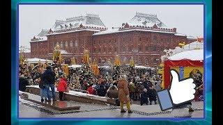 МАСЛЕНИЦА в МОСКВЕ/ ВЛОГ: 17.02.2018
