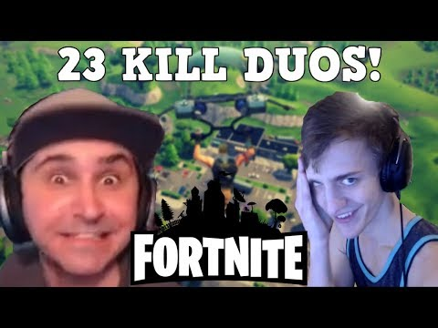SUMMIT AND NINJA DESTROY IN FORTNITE