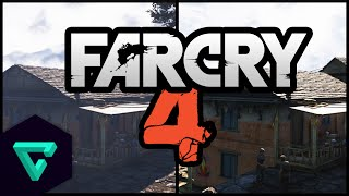 Far Cry 4 : Graphics Comparison | PC vs PS4 | Ultra Settings @ 60 FPS | Gameplay & Review