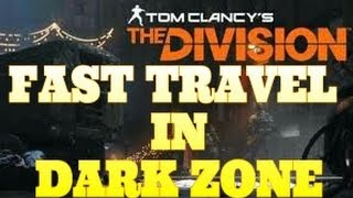 """The Division Glitches - GOD MODE - HOW TO FAST TRAVEL INSIDE DARK ZONE - """"TELEPORT GLITCH"""""""