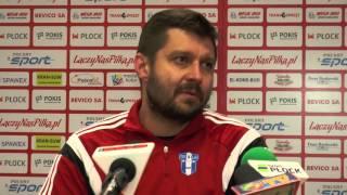 Miedź TV: Konferencja prasowa po meczu z Wisłą Płock