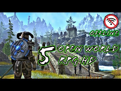 BEST 5 GAMES HD Open World RPG's Hack'N Slash For Android