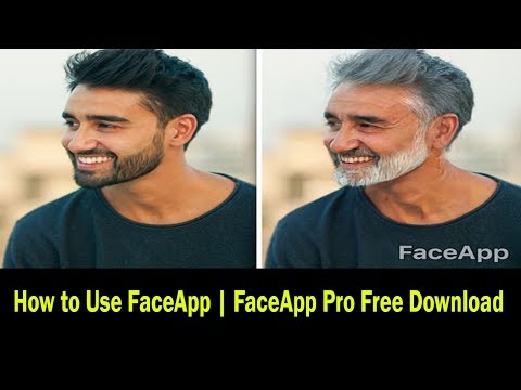 Young to Old Photo Converter App- FaceApp Pro Free Download