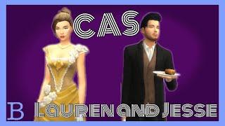 Lauren and Jesse CAS || Escape the Night Create a Sim