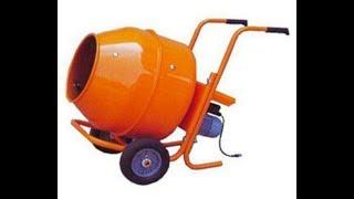 Бетоносмеситель иола-к ик-230н  ик-260 concrete mixer обзор, сборка, доработка