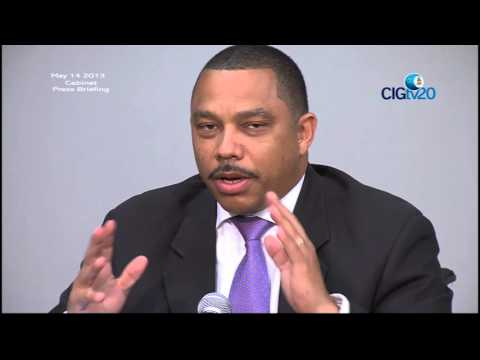 Cabinet Press Briefing May 14 2013