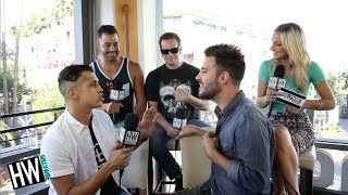 O-Town Discuss Ashley Parker Angel + 'All or Nothing' LIVE Performance!