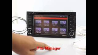 S150 Android OS Navigation head unit for VW Touareg