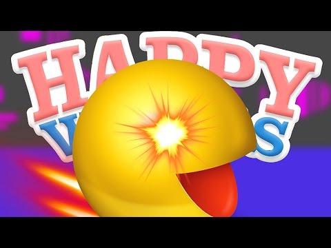 POURSUITE DE PAC-MAN! | Happy Wheels FR #57