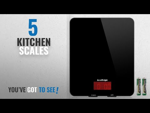 top-10-kitchen-scales-[2018]:-accuweight-digital-kitchen-cooking-scale,-11lb/5kg,-electronic