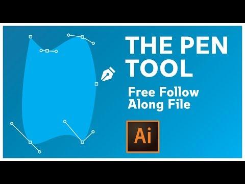 Adobe Illustrator CC Pen Tool Tutorial thumbnail