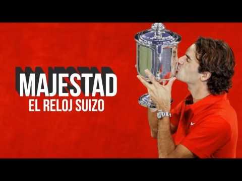 Roger Federer - Infographic (Spanish)