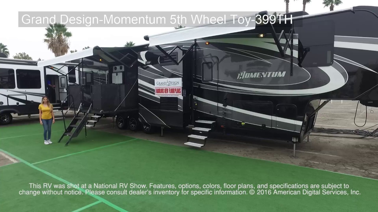 Grand Design Momentum 5th Wheel Toy 399th Youtube