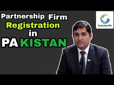 Partnership Firm Registration in Pakistan