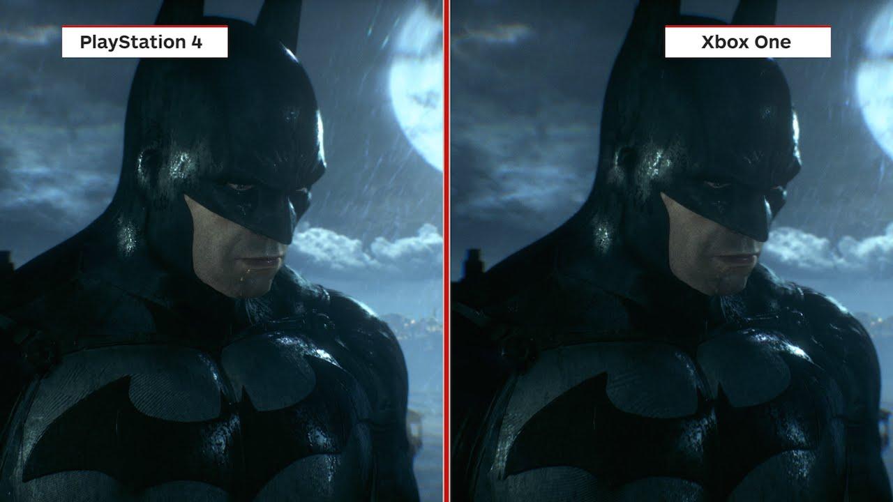 Batman: Arkham Knight Graphics Comparison Xbox One Vs. PS4 ...Xbox One Vs Ps4 Graphics Comparison