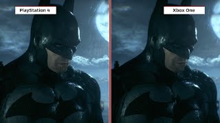 Batman: Arkham Knight Graphics Comparison Xbox One Vs. PS4