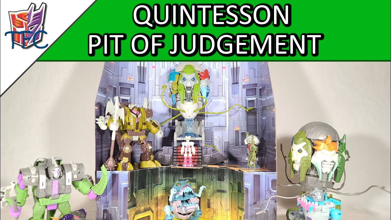 TF Collector Quintesson Pit of Judgement Review!