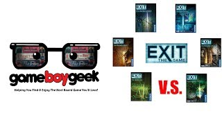 Exit the Game Comparison (first 6 games) with the Game Boy Geek