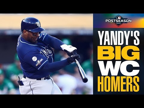 Rays' Yandy Diaz launches lead-off blast AND another homer to give Tampa Bay lead | AL Wild Card