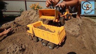 Машинки іграшки, болота і будуємо басейн. МанкиТайм