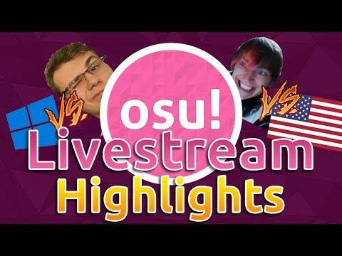 osu! Livestream Highlights | MouseEasy God mode! OWC Grandfinal Reactions! RyuK 727pp Reaction!