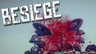 TORTURE FACTORY - Besiege Alpha Sandbox