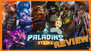 Paladins Strike Android Gameplay Review (Action MOBA)