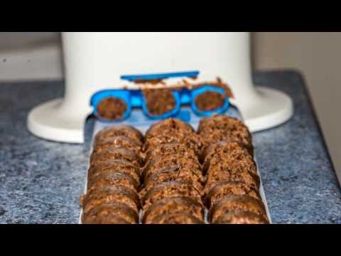 Cookies aux chocolats avec le Crousty Party (Tupperware)