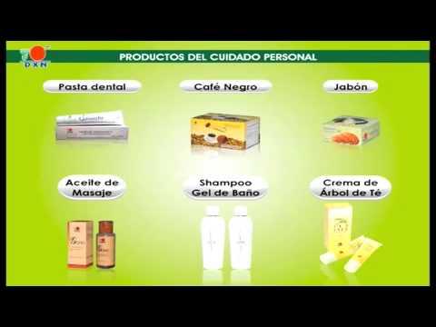 PRODUCTOS CON GANODERMA DE DXN : 100% organico