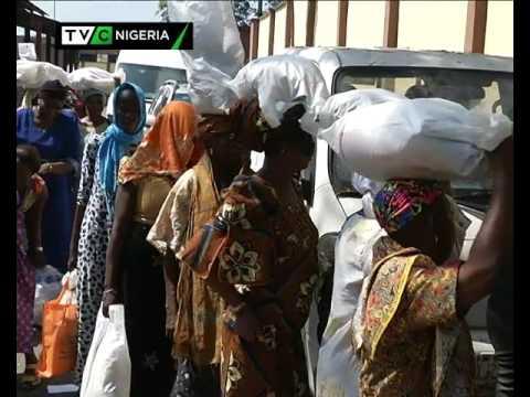 Image result for Bola Tinubu Foundation distributes food items