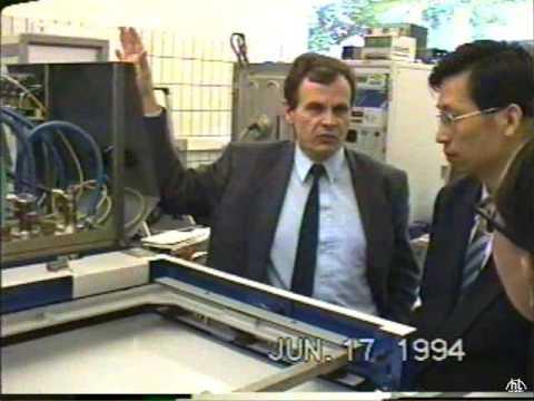 1994 JUN 17, visit von Ardenne Anlagentechnik GmbH