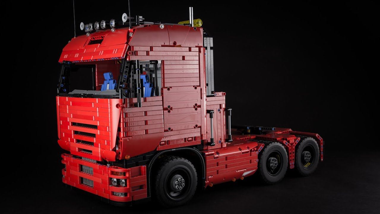 lego technic tractor truck youtube. Black Bedroom Furniture Sets. Home Design Ideas