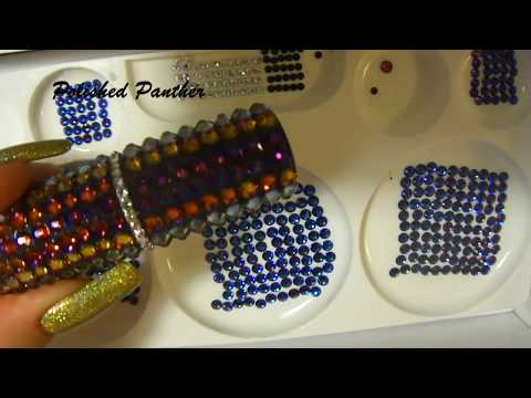 Requested HOW TO | DIY | ENCRUST  SWAROVSKI CRYSTALS nail ar