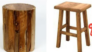 Wooden stool designs