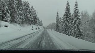 Rambling in winter wonderland on RV 3