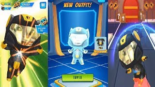 Talking Tom Hero Dash Android Gameplay #4- Superhero Tom New Outfit Unlocked