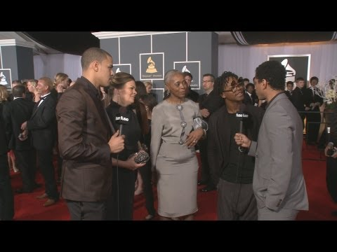 J. Cole, Lupe Fiasco Bring Their Moms to Grammy Red Carpet