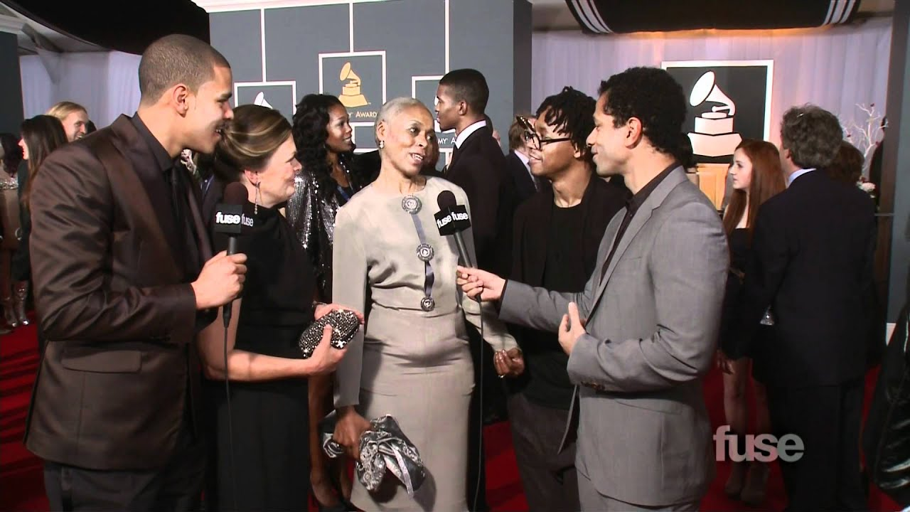 J. Cole, Lupe Fiasco Bring Their Moms to Grammy Red Carpet ...