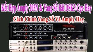 Kết Hợp Amply 230N Và Vang Số Bãi DSK-3 | Cực Hay | Cách Kết Hợp Vang Số Amply | Mai Cồ Audio